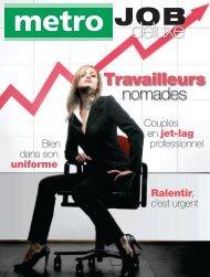 Travailleurs nomades - Metro
