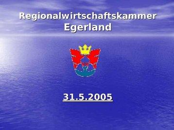 Regionalwirtschaftskammer Egerland - CLARA@eu