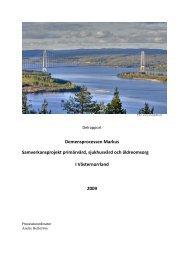 Demensprocessen - Landstinget Västernorrland