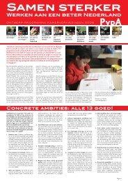 2006: Samen sterker: Werken aan een beter Nederland