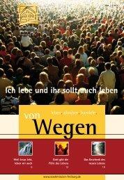 vonWegen 3/2008 - Evangelische Stadtmission Freiburg
