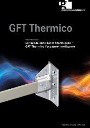 GFT Thermico l'ossature intelligente - Gasser Fassadentechnik AG