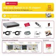 Installatiegids HD Digicorder DC-AD2000 - Klantenservice - Telenet