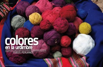Tejidos peruanos - LQHM.COM por Marck Gutt