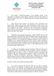 1.4 ASEAN Leaders Statement on ASEAN Connectivity with Logo