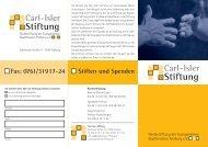 Stiftung Carl-Isler - Evangelische Stadtmission Freiburg