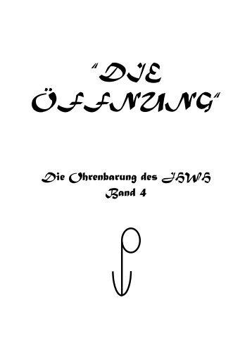 """""""DIE ÖFFNUNG"""" - Key of Life"""