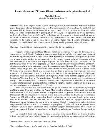 lire - Université Paris-Sorbonne