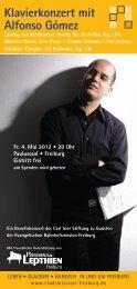 Klavierkonzert mit Alfonso Gómez - Evangelische Stadtmission ...