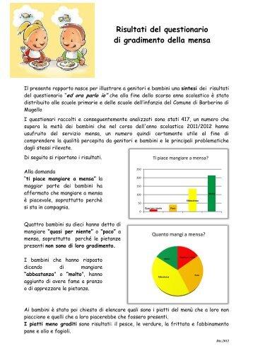 RISULTATI QUESTIONARIO a.s. 2011-2012 - barbescuola