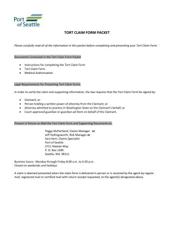 MBA Claim Form
