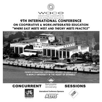 Concurrent Sessions - WACE