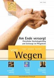 vonWegen 1/2009 - Evangelische Stadtmission Freiburg
