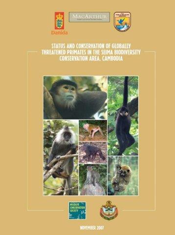 Primates of the Seima Biodiversity Conservation Area - Amazon S3