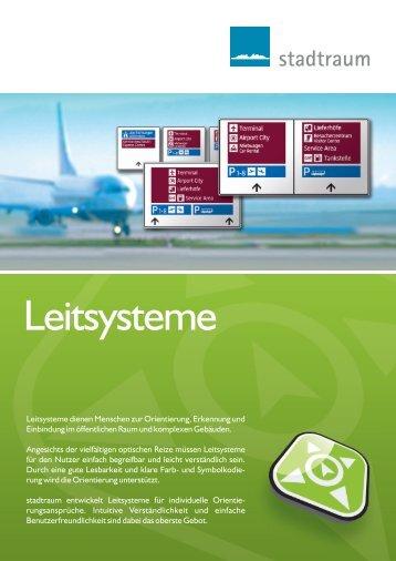 Leitsysteme - stadtraum