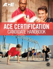 ACE Certification Candidate Handbook - American Council on ...