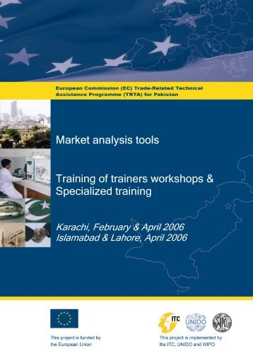 Market analysis tools Training of trainers workshops ... - TRTA i
