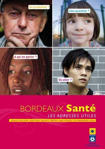 Bordeaux Santé : les adresses utiles