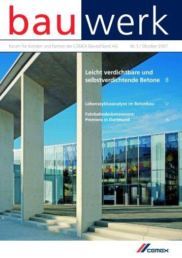 Nr. 5 / Oktober 2007 - Cemex Deutschland AG