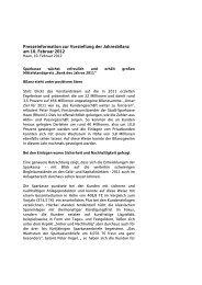 pressemitt Jahresbilanz 2011 - Stadt-Sparkasse Haan