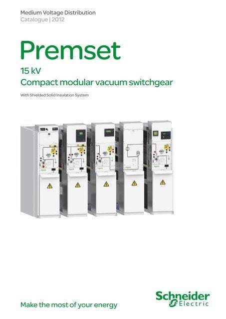 Premset Catalogue PDF 8 62MB - Schneider Electric