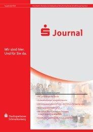 Journal - Stadtsparkasse Schmallenberg