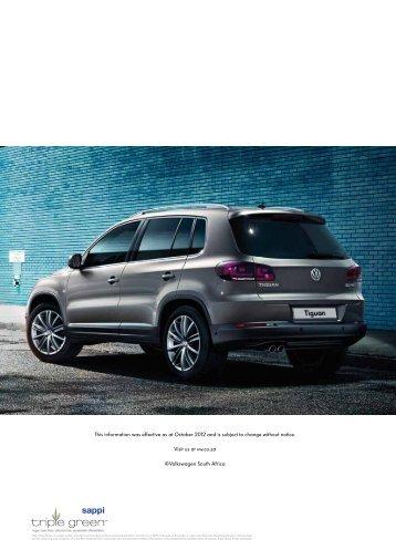 Download (PDF; 3.8MB) - Volkswagen South Africa