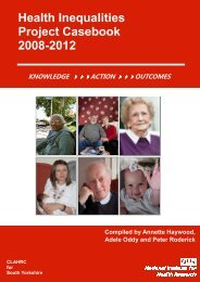 to download the Health Inequalities Project Casebook 2008-2012