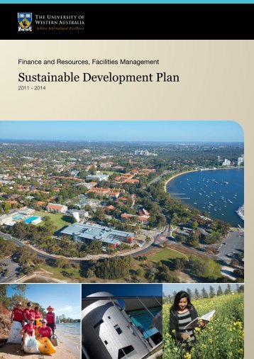 Sustainable Development Plan - Information Services - The ...