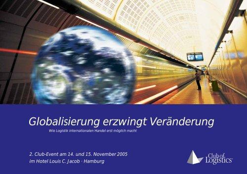 Globalisierung erzwingt Veränderung - Club of Logistics