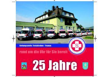 25 JAHRE - Samariterbund Traiskirchen-Trumau