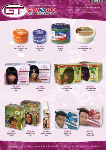 NEW - Afro-American Beauty Shop