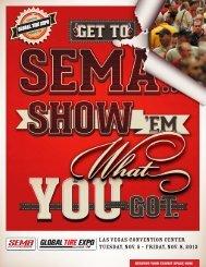 Las Vegas Convention Center Tuesday, Nov. 5 ... - SEMA Show