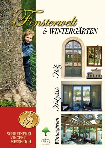 Fenster - Schreinerei Vincent Messerich