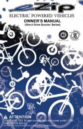 Currie Technologies - Bicycle Center of Seattle