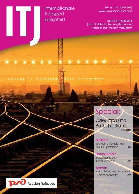 ITZ 15-16/2013 - ITJ | Transport Journal