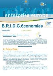 Newsletter n. 4 del 15 Aprile 2013 - BRIDG€conomies - Enterprise ...