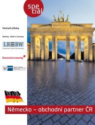 Německo – obchodní partner ČR - Mladá fronta