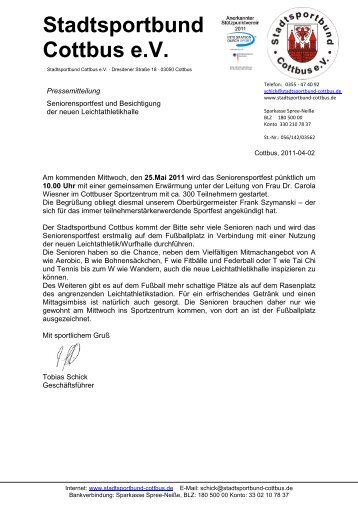 Stadtsportbund Cottbus e.V.