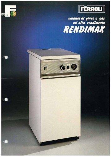 Caldaia Ferroli Rendimax - Certened