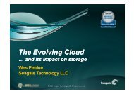 The Evolving Cloud and How it Impacts Storage - WorldHostingDays