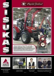 Sisukas - henkilöstölehti N:o 4/2012 - AGCO Power