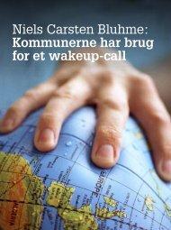 Niels Carsten Bluhme: Kommunerne har brug for et wakeup-call - KTC