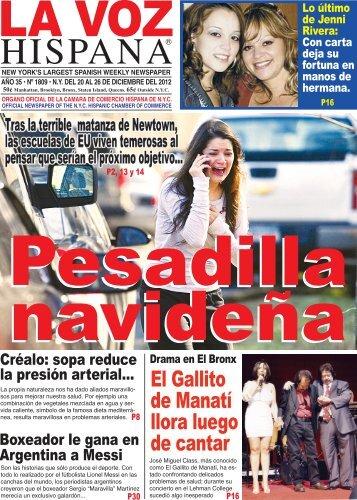 El Gallito de Manatí llora luego de cantar - La Voz Hispana NY