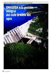 EMASESA o la gestión integral del ciclo urbano del agua