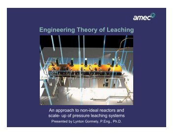 Engineering Theory of Leaching
