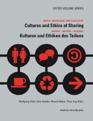 Cultures and Ethics of Sharing - Universität Innsbruck