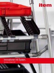 Neuheiten 04/2012 - item Industrietechnik GmbH