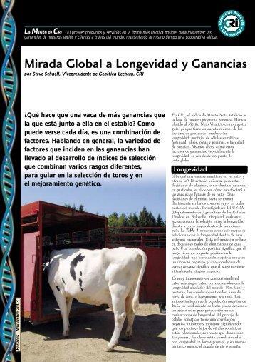 Mirada Global a Longevidad y Ganancias