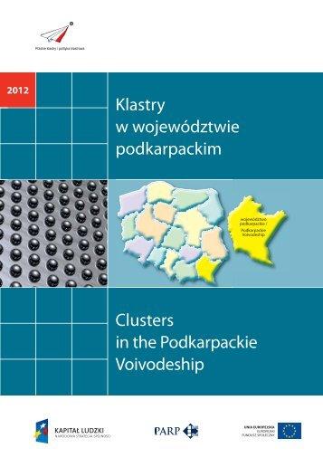 """Katalog """"Klastry w województwie podkarpackim"""" - Portal Innowacji"""